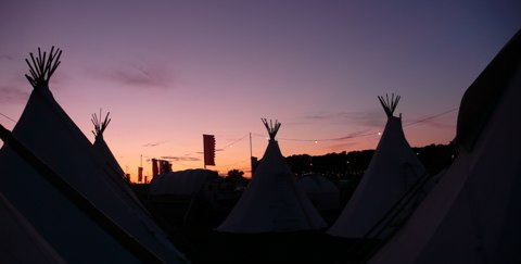 What happens in the tipi stays in the tipi